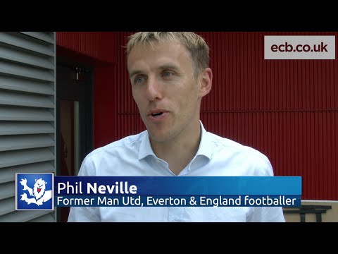 'Choosing between football and cricket was my hardest decision' - Phil Neville