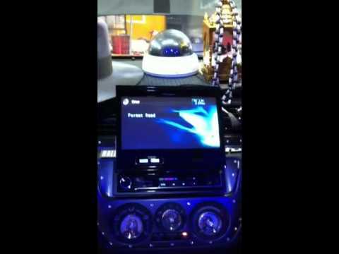 Pioneer AVH 5350 Single Din DVD Headunit