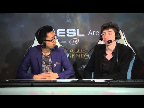 ESL Arena PGW2015 Final des Worlds   SKT Telecom vs KOO Tigers Game 4