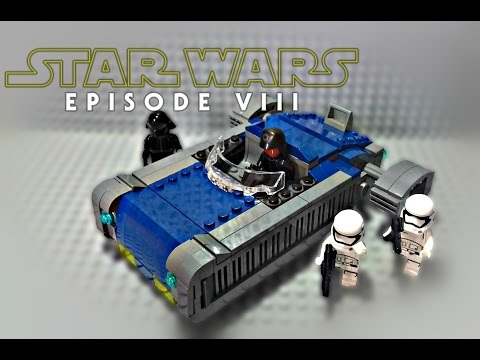 LEGO Star Wars Episode 8 The Last Jedi Speeder MOC - Review