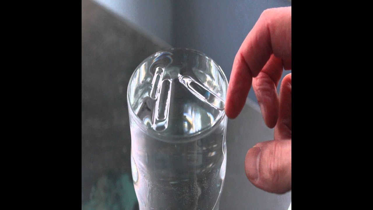 Water Surface Tension Experiment Surface Tension of Water The