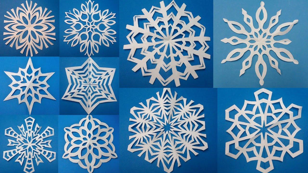 Все для нового года снежинки своими руками