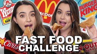 Fast Food Challenge - Merrell Twins