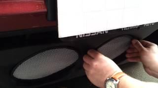 Видео: Защитная сетка радиатора Nissan Juke 2010 chrome