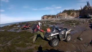 Bay of Fundy ATV run