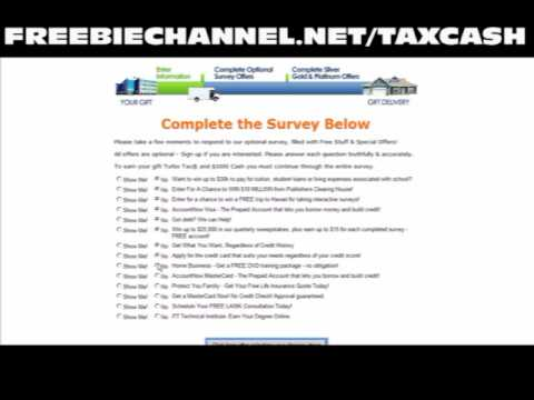 Freebie Channel: How To Get Free $1000 Cash And Free Tax Software