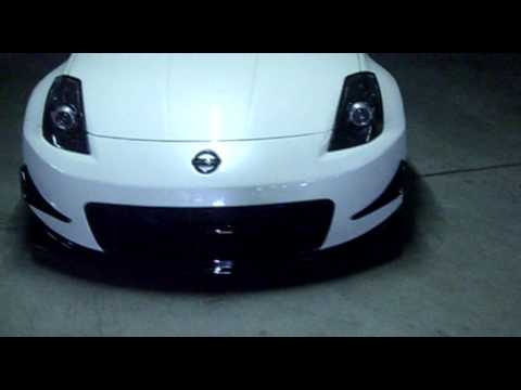 Nissan 350Z freshly painted Nismo V2 bodykit