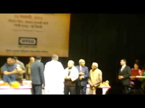 03 IFFCO gave Third Shrilal Shukla Smriti IFFCO Sahitya Samman 2013 to renowned Hindi novelist Shri