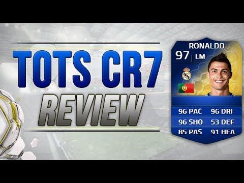 FIFA 14 TOTS CRISTIANO RONALDO PLAYER REVIEW   FIFA 14 TOTS CR7 RECENSIONE