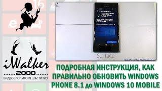Windows Phone 8.1: инструкция, как обновить смартфон с 8.1 до официальной Windows 10 Mobile