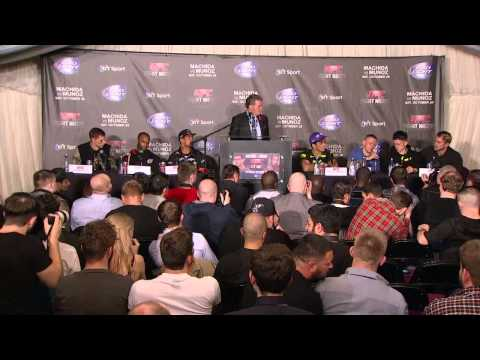 Fight Night Manchester Post-fight Press Conference
