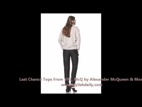 Last Chance Tops From VPL, McQ by Alexander McQueen & More