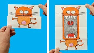 FUNNY DRAWINGS YOU CAN MAKE YOURSELF