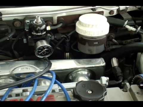 Adjustable Fuel Pressure Regulator aka AFPR install - Part 2/2