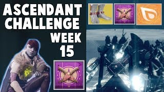 Destiny 2 Ascendant Challenge - WEEK 15 SOLO GUIDE! SPINE OF KERES CHALLENGE