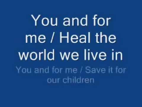 Michael Jackson - Jackson Michael Heal The World