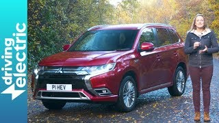 Mitsubishi Outlander PHEV SUV review - DrivingElectric