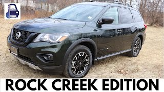 2019 Nissan Pathfinder SV AWD Rock Creek Edition Review   What do you Get?  