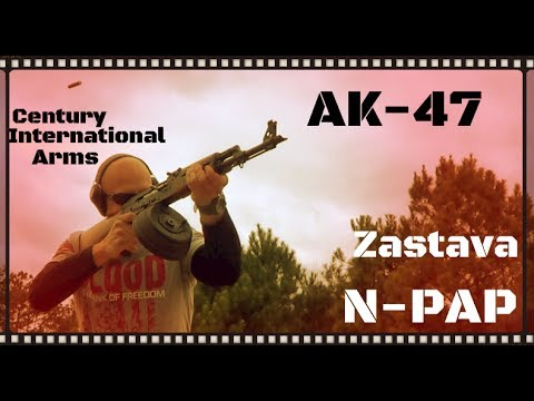 Century Yugo Zastava M70 N-PAP AK-47 Rifle Review (HD)