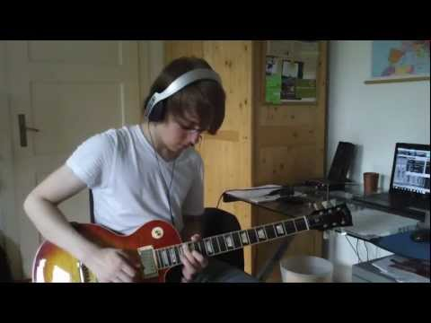 Gary Moore- Cold Day in Hell ( impro by Vincent Dellwig )