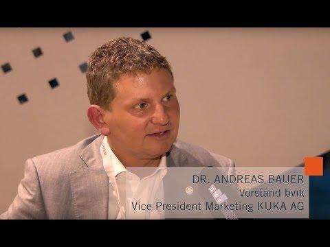 Dr. Andreas Bauer (KUKA) zum Influencer Marketing im Gespräch