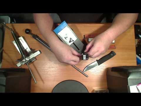 Видео как выбрать точилку для ножей