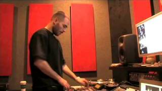 """The Alchemist making """"Key To The City"""" beat"""