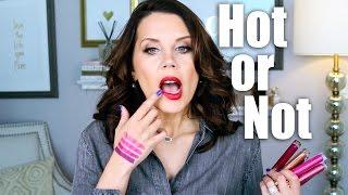 MILANI LIQUID METALLIC LIPSTICK | Hot or Not