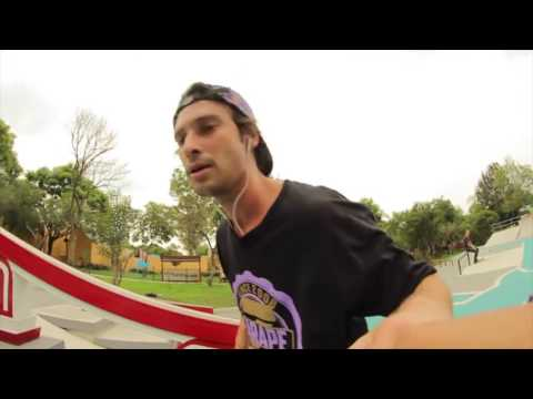 Mario Saenz Templo Mayor skatepark montaje ZARAPE SKATESHOP