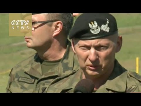 NATO holds largest military drill in Poland