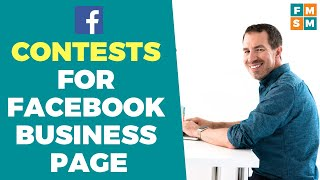 Contests For Facebook Business Page