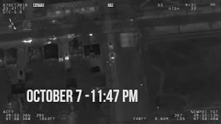 AIR1 video of stolen vehicles taken over Thanksgiving weekend