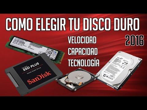 Como elegir el disco duro o el SSD de tu PC | 2016