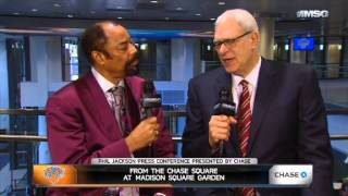 Clyde Interviews Phil Jackson