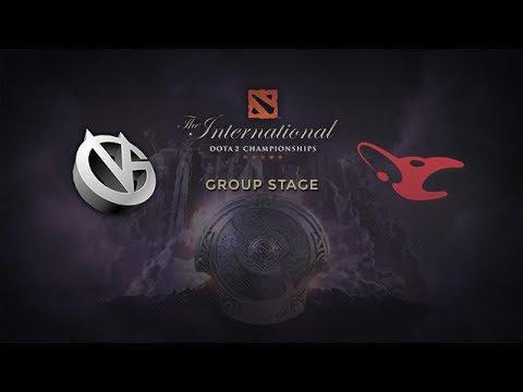 Mouz -vs- VG, The International 4, Group Stage, Day 1