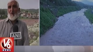 Jammu And Kashmir: Heavy Rainfall Causes Overflow Of River In Rajouri