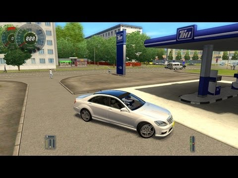 City Car Driving Mercedes-Benz S65 AMG HD