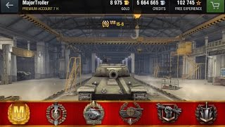 IS-6 Intense Mastery [WoT Blitz]