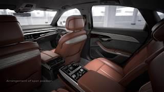 AUDI A8 L 2019 INTERIOR