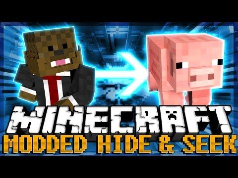 MORPH MOD Minecraft Modded Hide and Seek