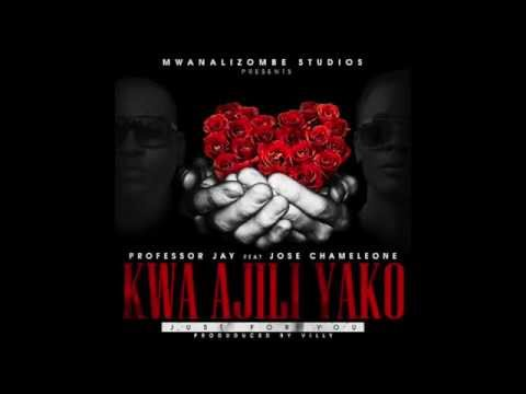 Professor Jay Ft Chameleone - Kwa Ajili Yako (official Audio) video