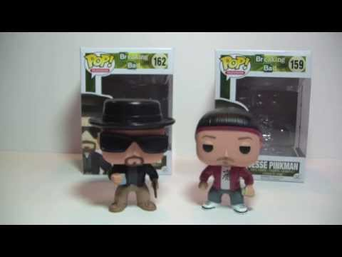 Funko Pop! Breaking Bad Heisenberg & Jesse Pinkman Review