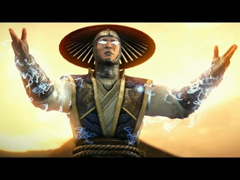 Mortal Kombat X - Raiden Reveal Trailer HD