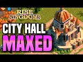 We are MAX Level City Hall 25 in Rise of Kingdoms