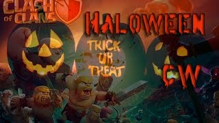 Haloween-ское КВ в Clash of Clans