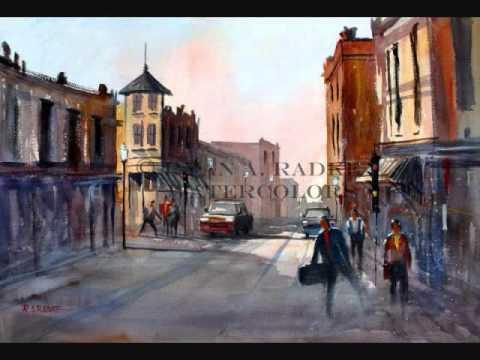 Wisconsin Street Scenes in Watercolor