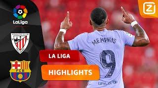 SNOEIHARDE GOAL VAN MEMPHIS! ☄️🥅 | Athletic Bilbao vs Barcelona | La Liga 2021/2