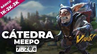 CÁTEDRA BÁSICA MEEPO | GANAR PARTIDAS SIN AYUDA DE TU EQUIPO | 2.5k AVERAGE Dota 2 Gameplay