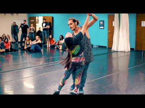 Incredible Dance! Ry'El (Henry Velandia) & Jessica Lamdon - Lambazouk Intensive in Atlanta