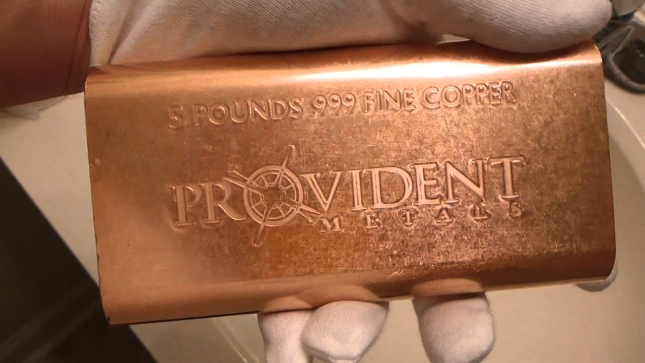 Provident Metals 5 Pound Copper Bar Review Amp Opinions